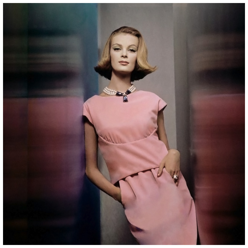 nena-von-schlebrugge-two-piece-pink-velvet-dress-by-larry-aldrich-with-large-faux-pearl-necklace-by-castlecliff-circa-november-1961-photo-john-rawlings.jpg