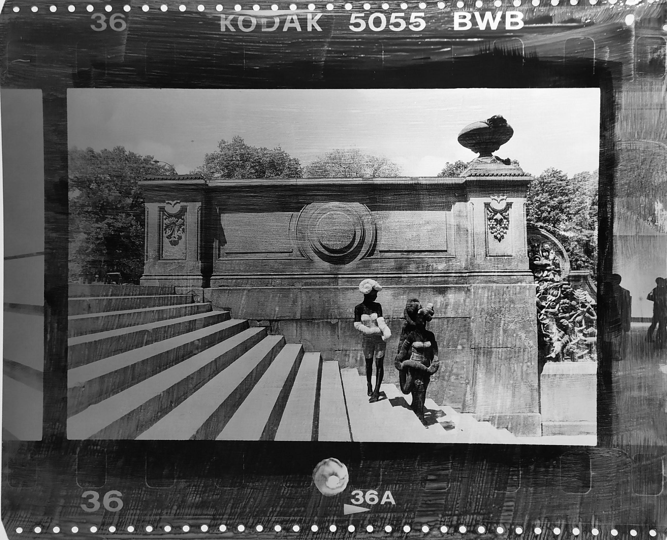 Fotó: Vékás Magdolna: Central Park, lépcső, New York, 2002 © Vékás Magdolna