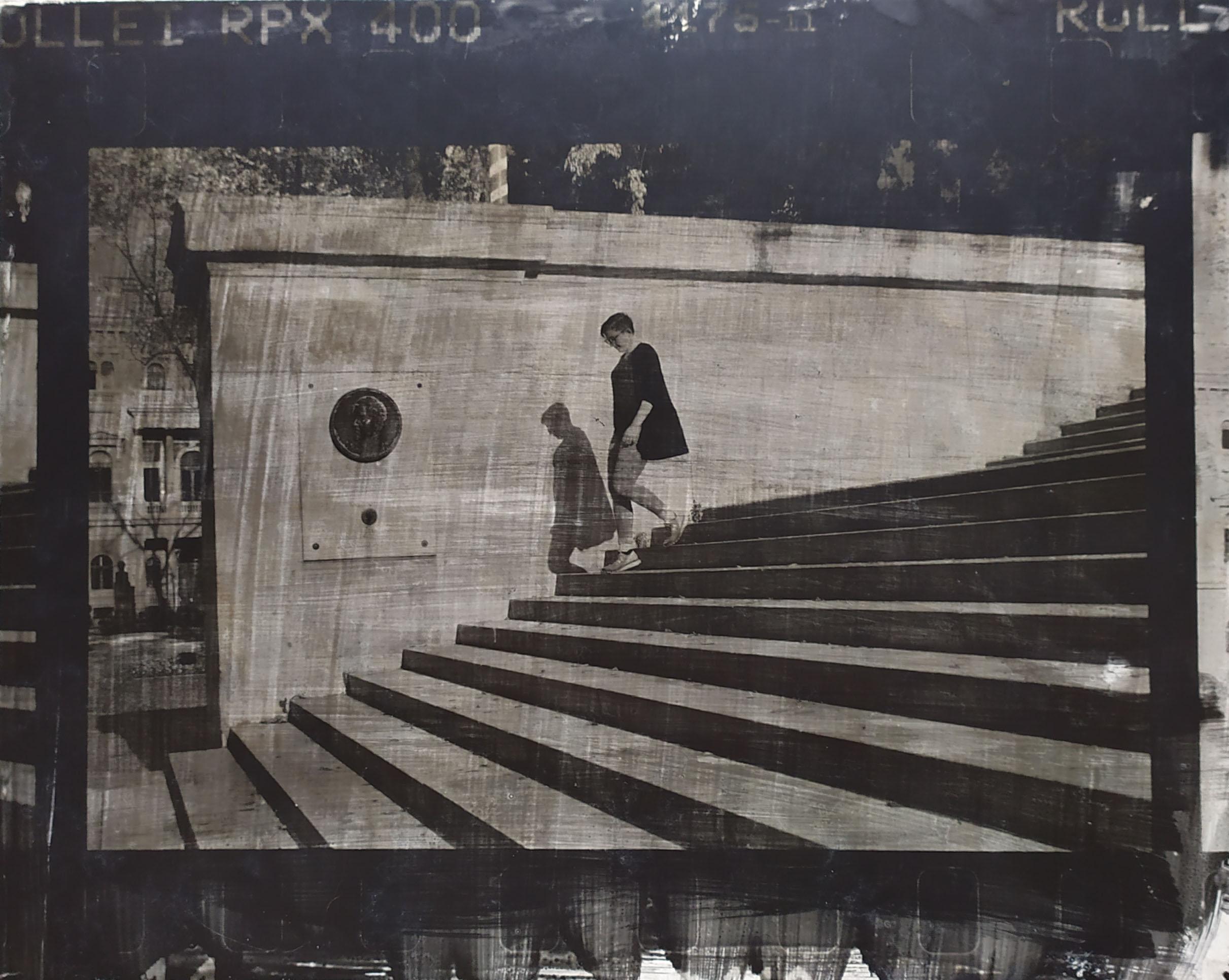 Fotó: Vékás Magdolna: Nemzeti Múzeum, lépcső, Budapest, 2017-2019 © Vékás Magdolna