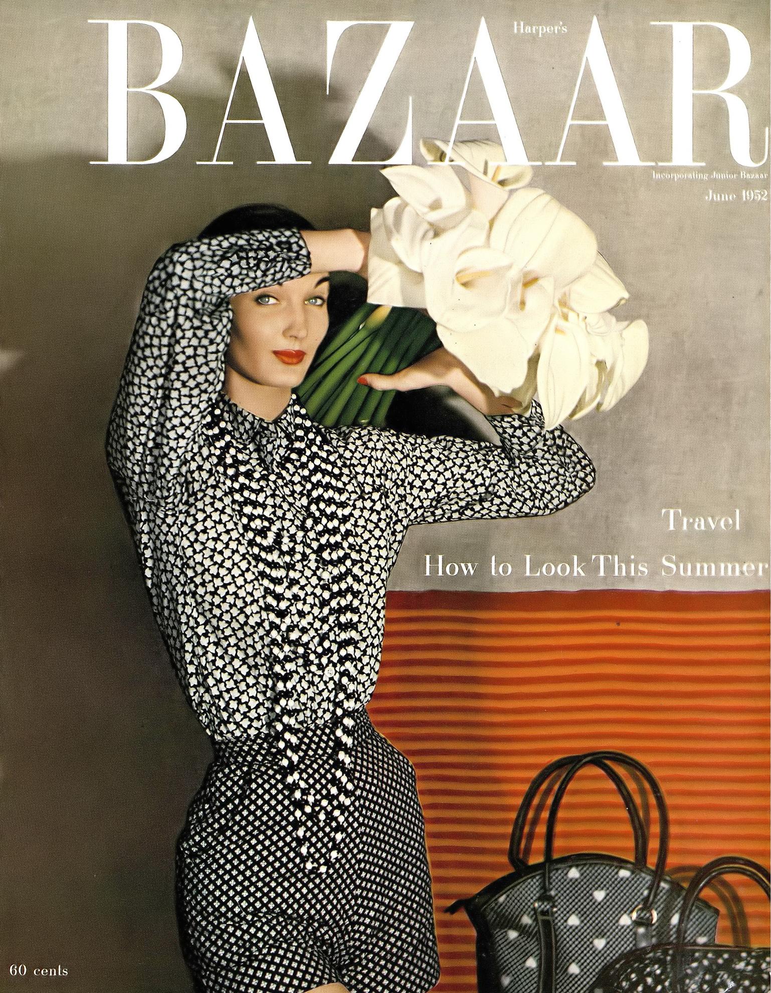 Fotó: Louise Dahl-Wolfe: Harper's Bazaar, June 1952 © Louise Dahl-Wolfe Archive