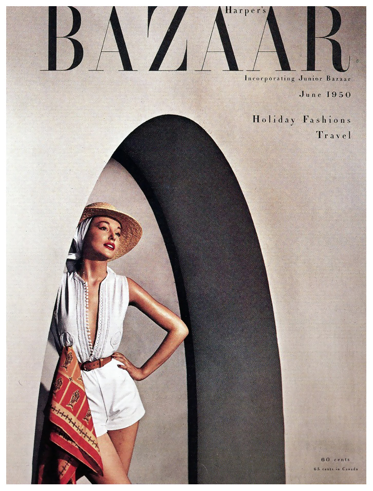 Fotó: Louise Dahl-Wolfe: Harper's Bazaar, June 1950 © Louise Dahl-Wolfe
