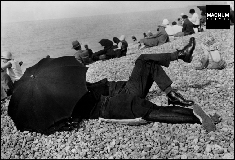 Fotó: Henri Cartier-Bresson: Normandia, Dieppe, 1926 © Henri Cartier-Bresson/Magnum Photos