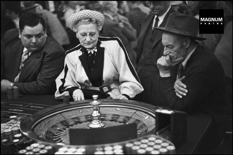 Fotó: Henri Cartier-Bresson: Nevada, Las Vegas, 1947 © Henri Cartier-Bresson/Magnum Photos