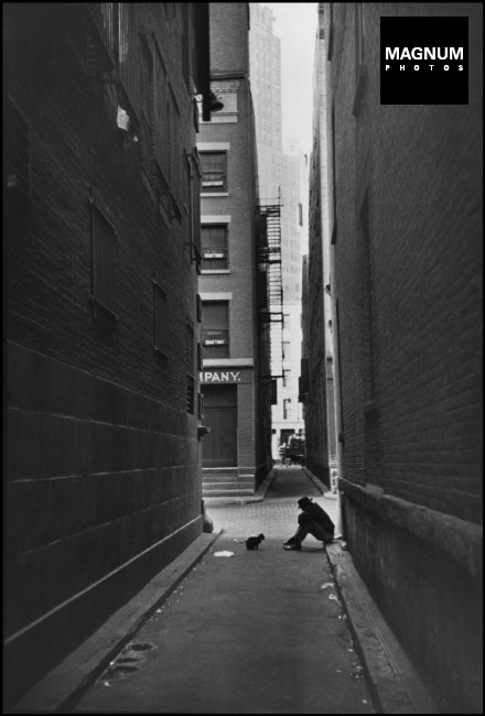 Fotó: Henri Cartier-Bresson: Manhattan, 1947 © Henri Cartier-Bresson/Magnum Photos