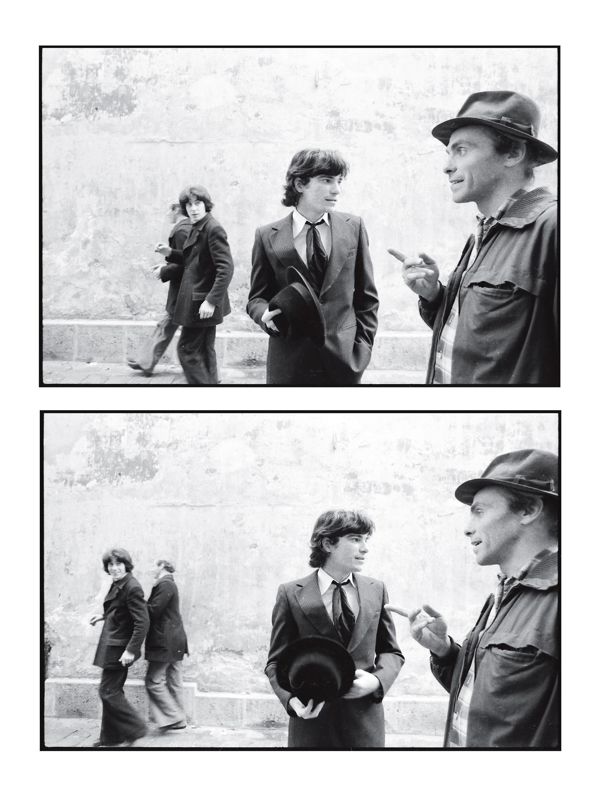 Fotó: Bereményi Géza – Vető János: Antoine és Desiré – Fényképregény az 1970-es évekből. Corvina kiadó, Budapest, 2017. 123. o.