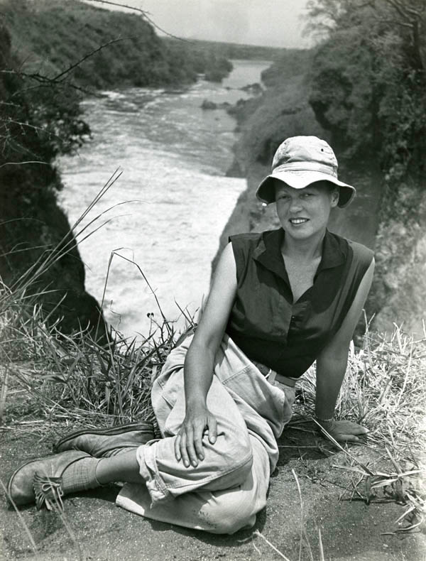 Photo: Pierre Durand-Ruel: Ylla, Africa, 1952 © Pryor Dodge