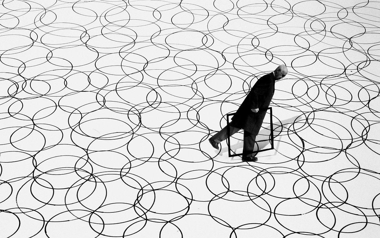 Fotó: Gilbert Garcin: A különbség, 2004 © Gilbert Garcin