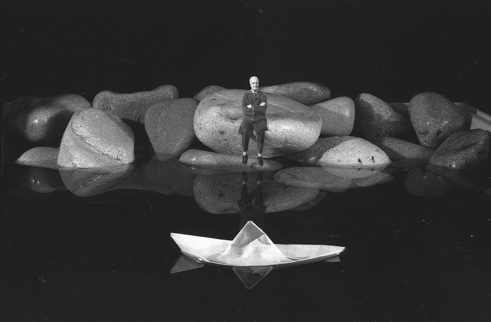 Fotó: Gilbert Garcin: Emlékszem a régi napokra, 2004 © Gilbert Garcin