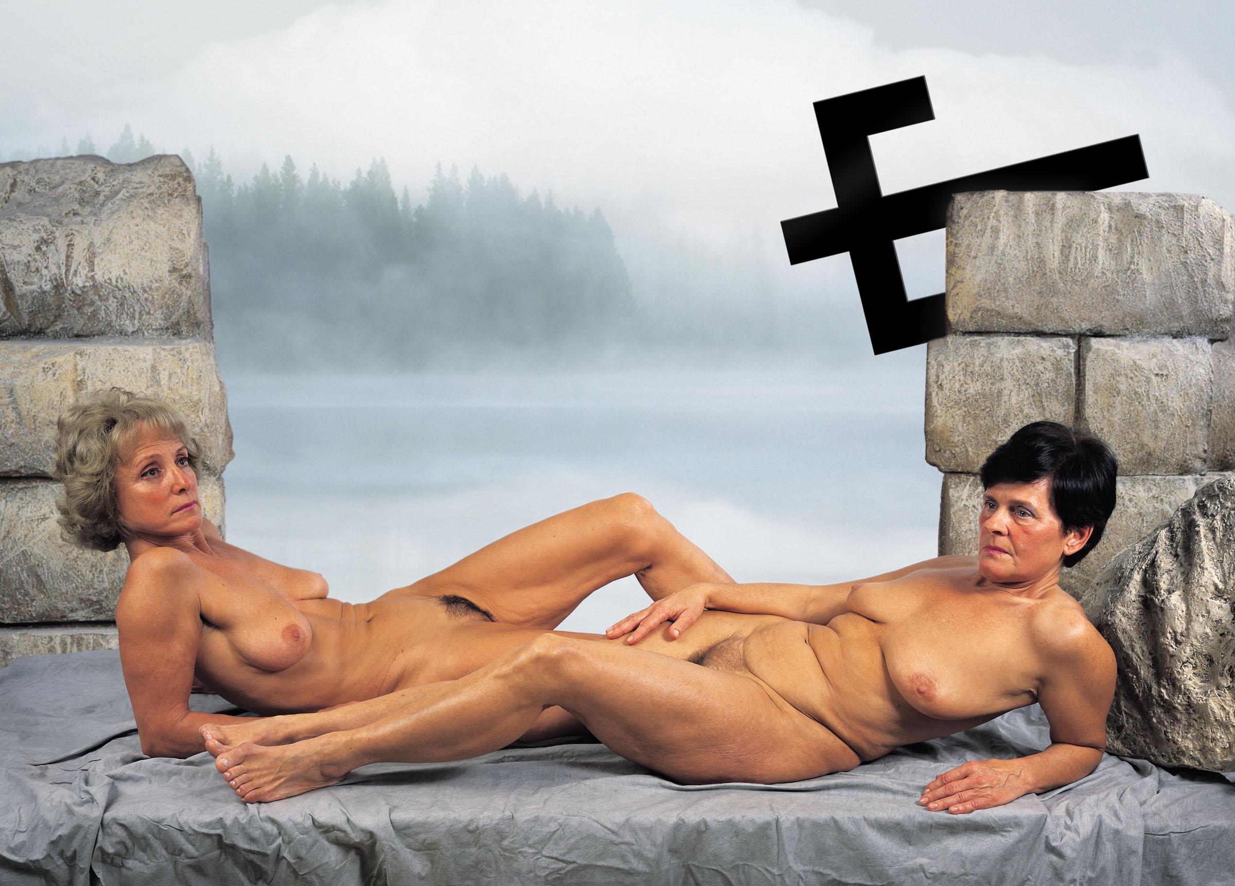 Pihenő anyák, 2004, giclée print, 70 x 94 cm © Gerhes Gábor
