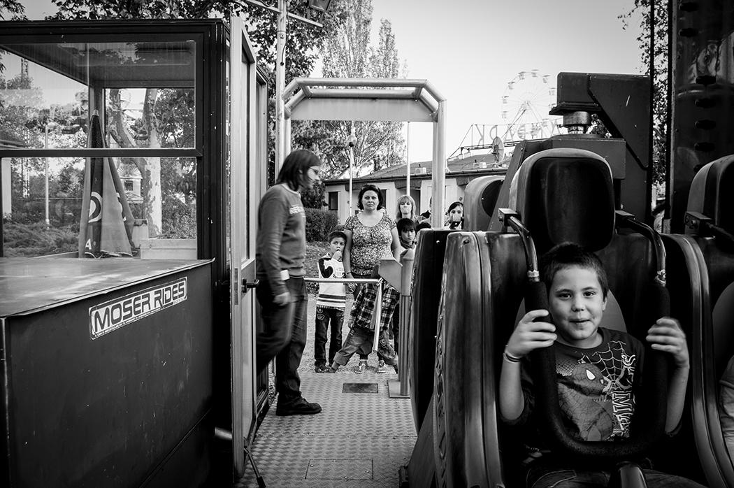 Fotó: Gombai Gellért: Részlet a Vidámpark című sorozatból, 2012-2013