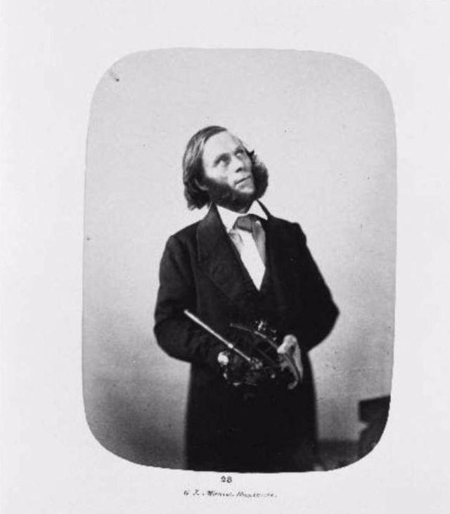 Fotó: Henry Hering: Captain George Johnston 1846-ban érkezett, gyilkossággal vádolták, diagnózis: mánia.© Bethlem Art and History Collections Trust