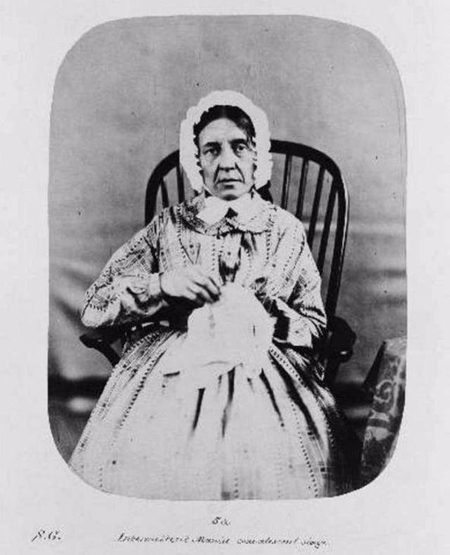 Fotó: Henry Hering: Fanny Barrett 1858-tól a kórház páciense, diagnózis: mánia © Bethlem Art and History Collections Trust