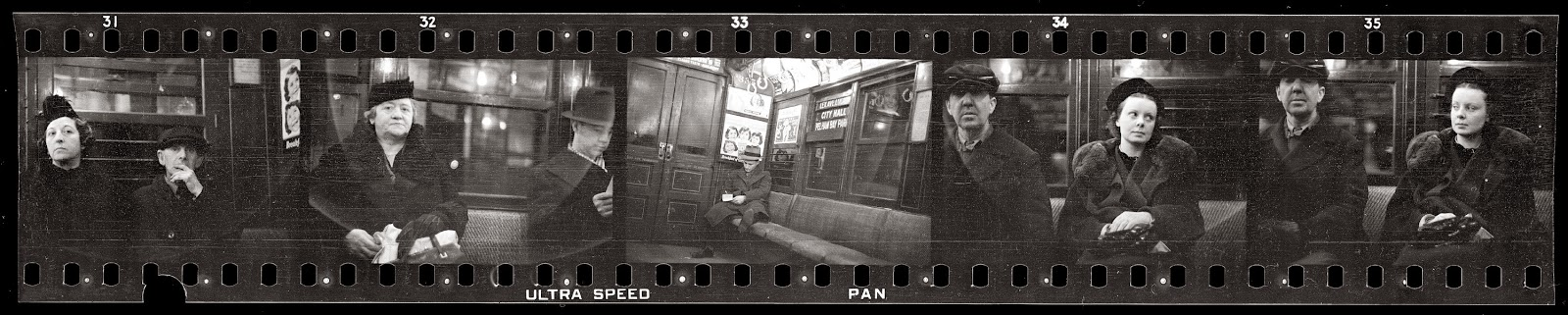 Subway Passengers, New York City from between 1938-1941 by Walker Evans.jpg
