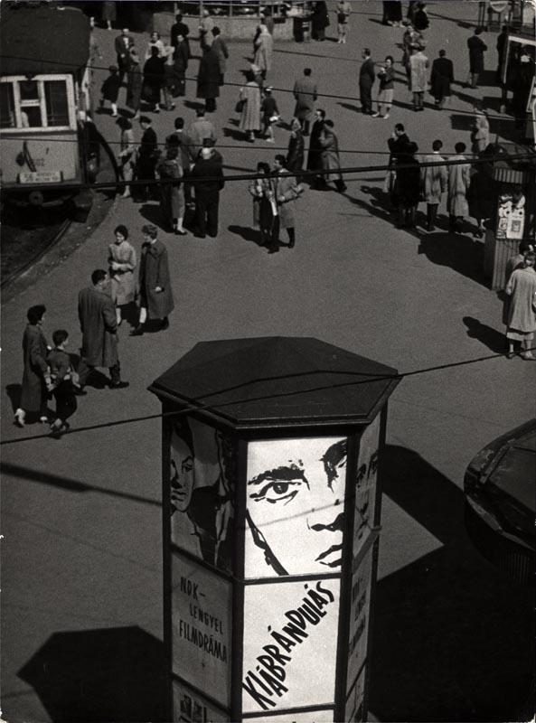 Fotó: Angelo: Moszkva tér 1961. © Magyar Fotográfiai Múzeum
