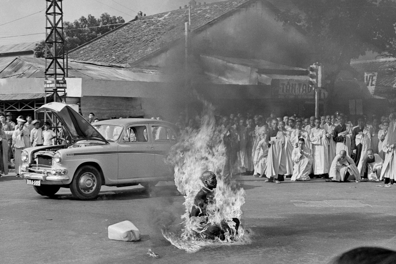 Fotó: Malcolm Browne: Saigon, 1963. június 11. © Malcolm Browne–AP