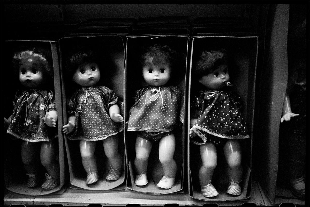 Fotó: Mása Ivasincova: Toy store «Detsky Mir», Moscow, USSR, 1983 © Masha Galleries
