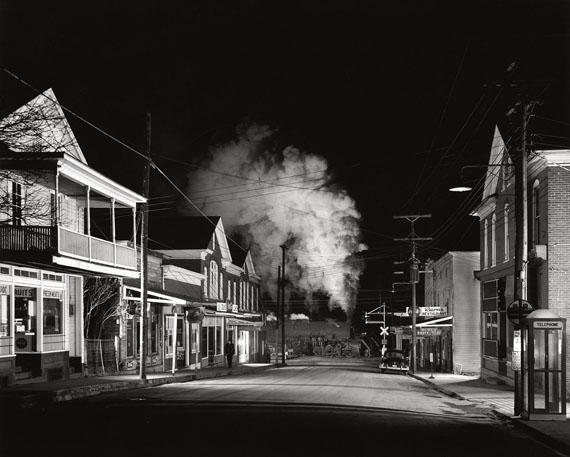 Fotó: O. Winston Link: Ghost Town, Stanley, Virginia, 1957 © O. Winston Link / O. Winston Link Museum, Roanoke, Virginia
