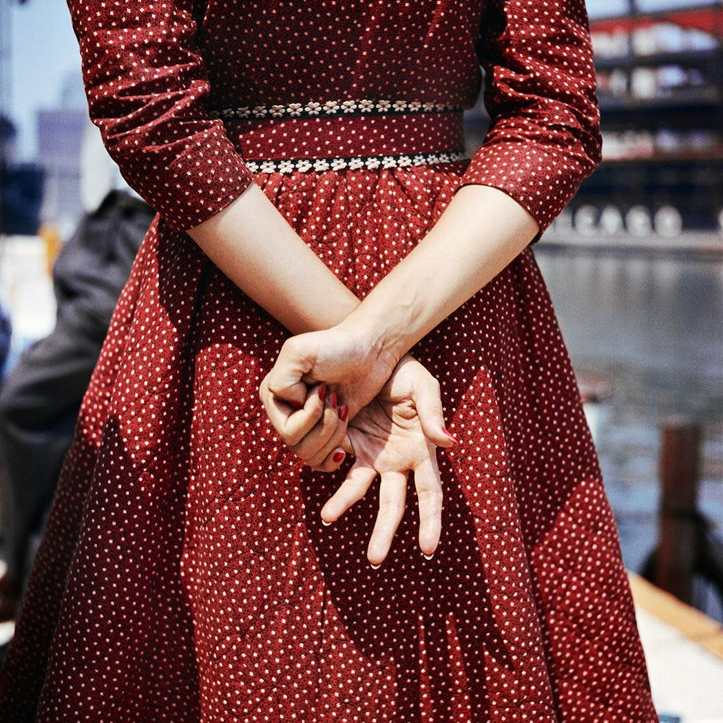Fotó: Vivian Maier: 1956 © Maloof Collection