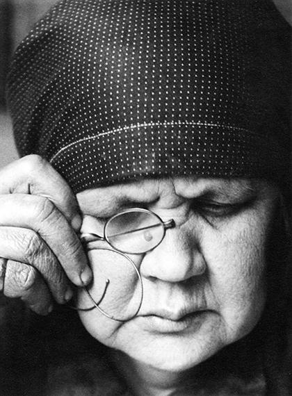Fotó: © Alexander Rodchenko<br />Portrait of the Artist's Mother<br />1924<br />