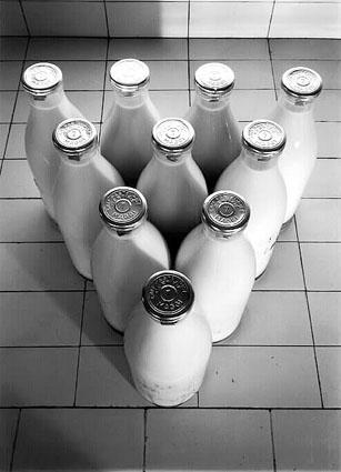 Fotó: Publicité pour le lait Maggi<br />1960<br />René-Jacques<br />Ministère de la Culture et de la Communication / Médiathèque de l'architecture et du patrimoine / Dist Rmn © Donation René-Jacques