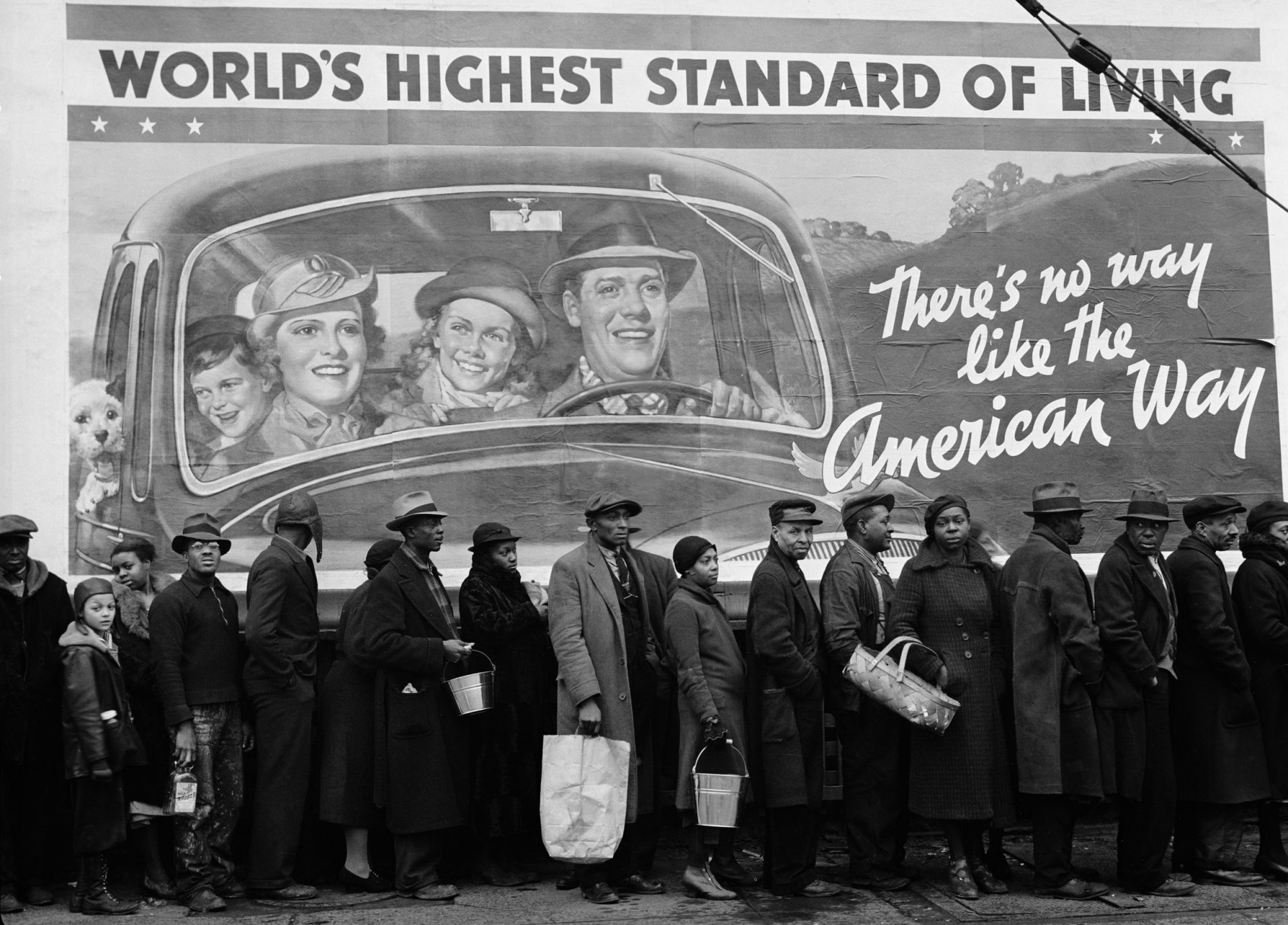 Fotó: Margaret Bourke-White: Louisville, Kentucky, USA, 1937 © Time & Life Pictures/Getty Images