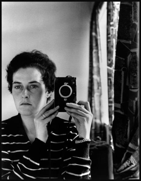 Fotó: Inge Morath: Önarckép, Jeruzsálem, 1958 © Inge Morath / Magnum Photos