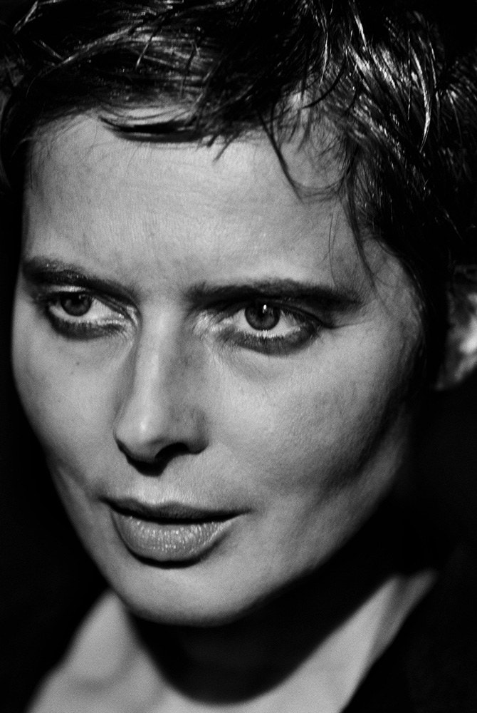 Fotó: Peter Lindbergh: Isabella Rossellini, New York, 1997 © Peter Lindbergh (All photos courtesy of the Peter Lindbergh Foundation)