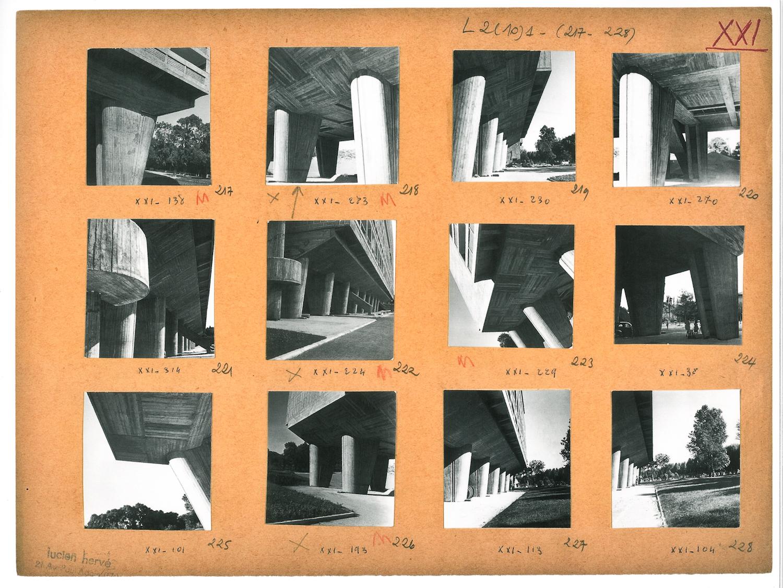 Fotó: La Cite Radieuse Marseille: still from 'Le Corbusier & Lucien Hervé: The Architect & The Photographer – A Dialogue'. (Published 2011, © Thames & Hudson)