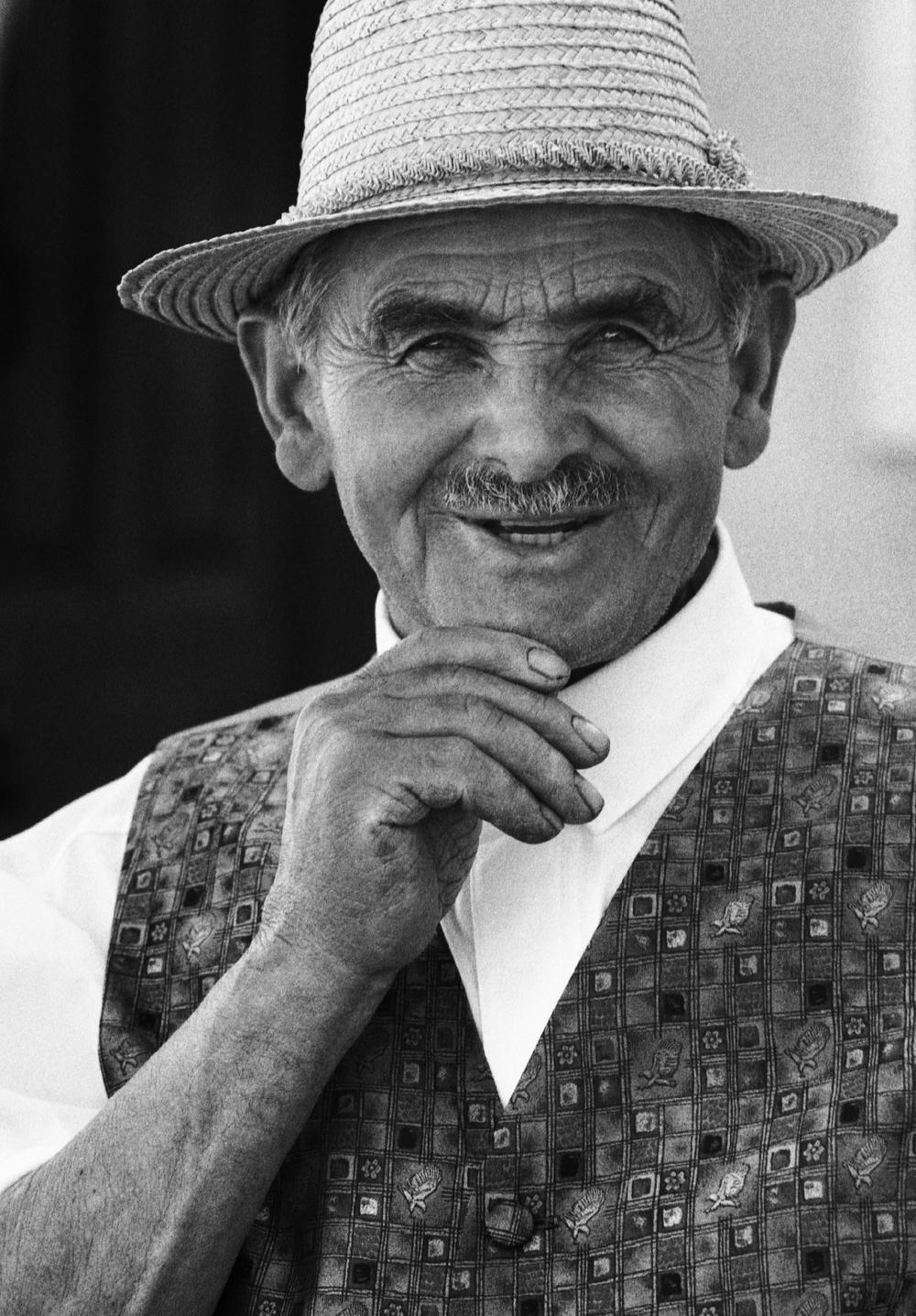 Fotó: Baricz Kati: Apám, Rodosz, 1996