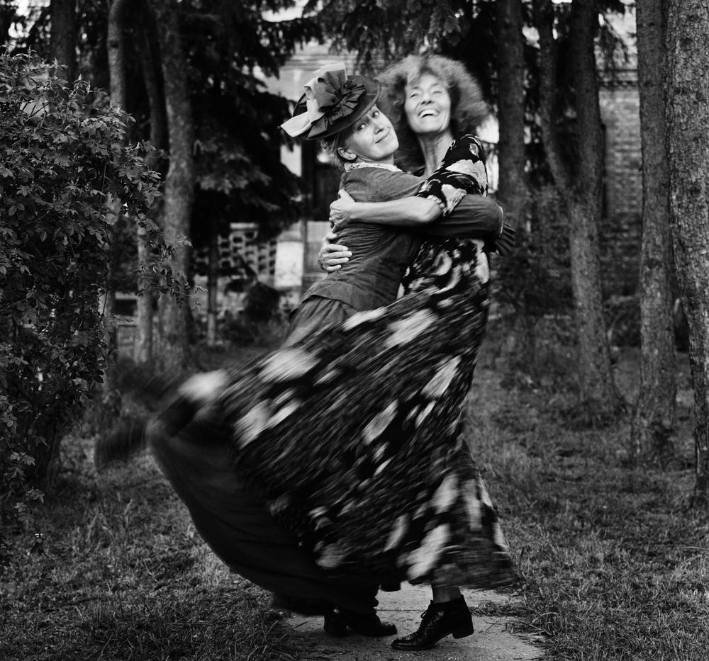 Fotó: Baricz Kati: Erzsi és én, Csillaghegy, 2004