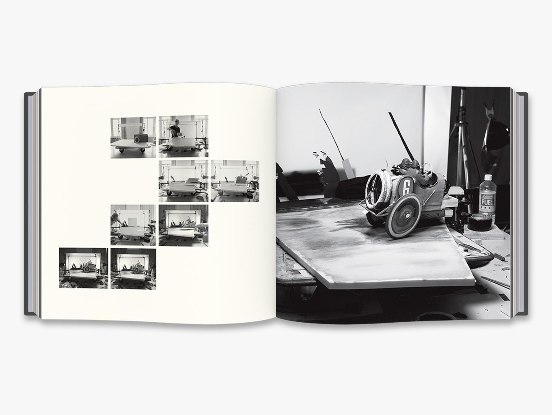 Fotó: Cortis & Sonderegger: Making of Grand Prix A.C.F. (by Jacques-Henri Lartigue, 1913), 2016 © Thames and Hudson / Cortis & Sonderegger