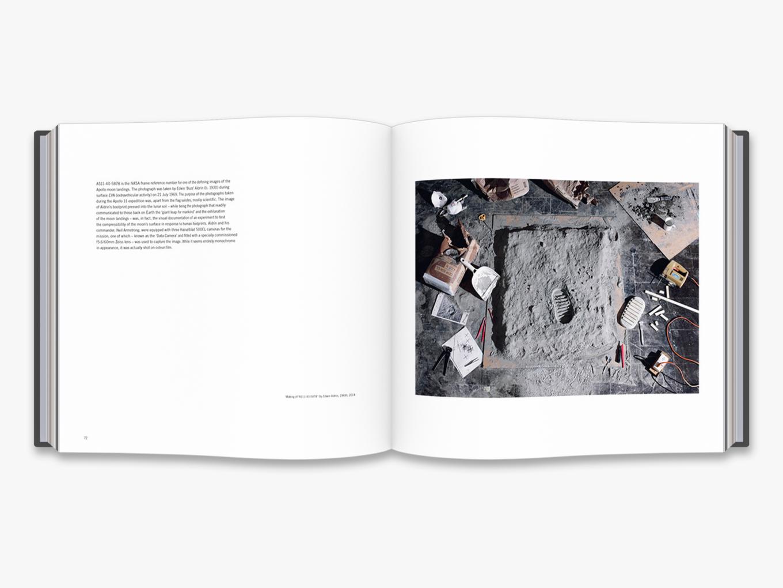 Fotó: Cortis & Sonderegger: Making of AS11-40-5878 (by Edwin Aldrin, 1969), 2014 © Thames and Hudson / Cortis & Sonderegger