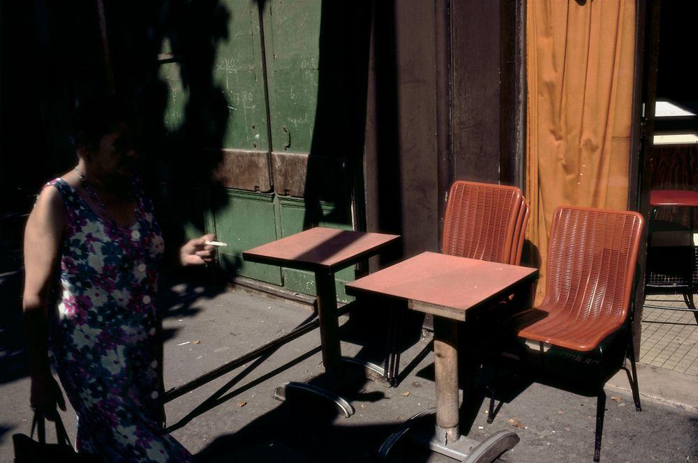 Fotó: Street scene. Paris 1985<br />© 2015 Harry Gruyaert / Magnum Photos