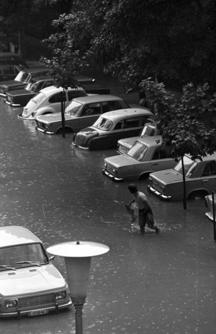 Fotó: Kriss Géza / Fortepan <br />Budapest, 1979
