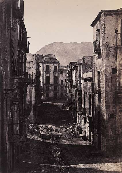 Fotó: Gustave Le Gray: Palermo, 1860