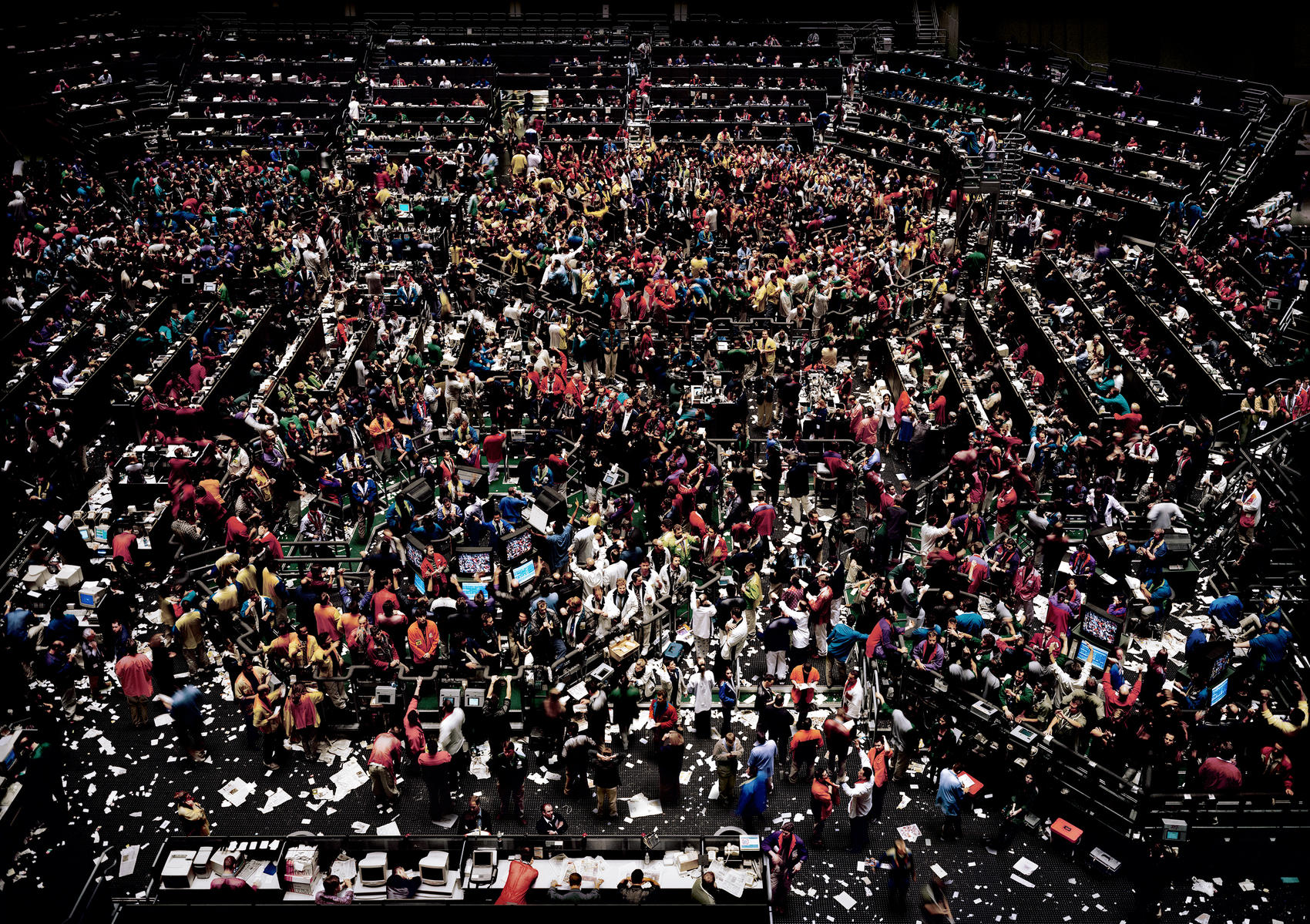 5.<br />Fotó: Andreas Gursky: Chicago Board of Trade III (1999-2000)<br />$3,298,755<br />June 26, 2013<br />Sotheby's London