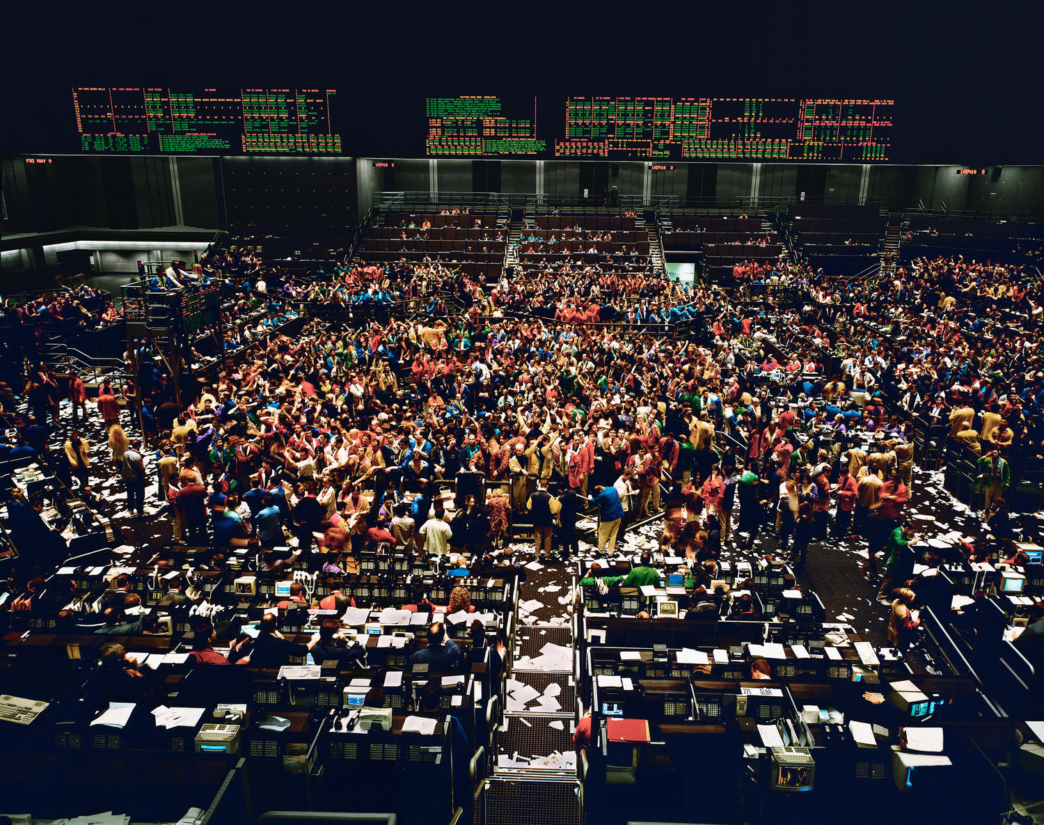 10.<br />Fotó: Andreas Gursky: Chicago Board of Trade (1997)	<br />$2,507,755	<br />June 23, 2013	<br />Sotheby's London