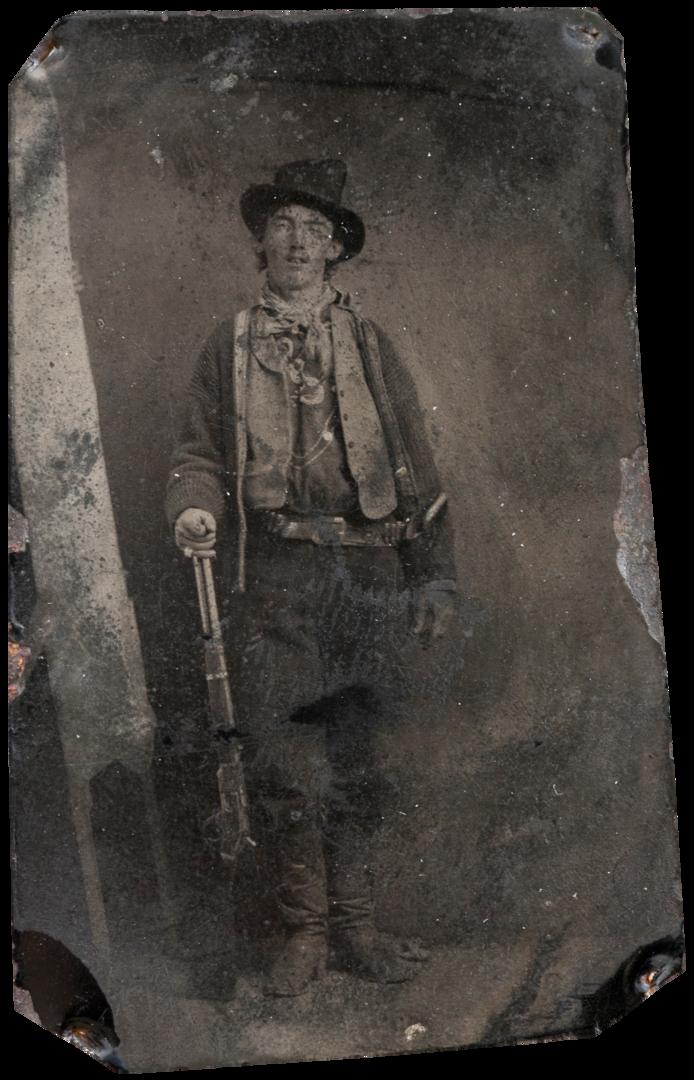 12.<br />Fotó: Ismeretlen: Billy the Kid (1879–80) tintype portrait<br />$2,300,000<br />June 2011<br />Brian Lebel's Old West Show & Auction