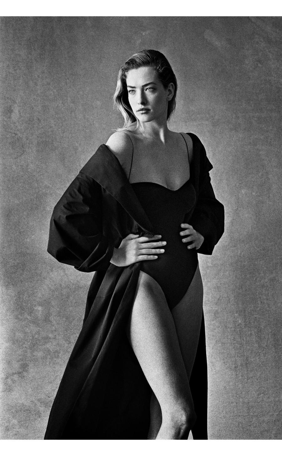 Fotó: Peter Lindbergh: Tatjana Patitz, 1987 © Vogue/Peter Lindbergh