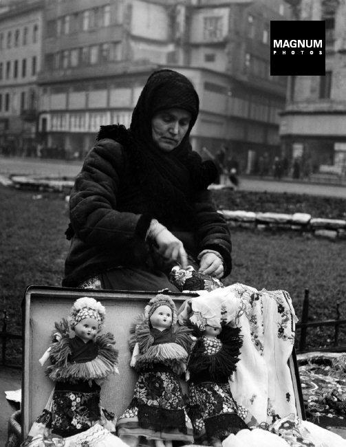 Fotó: David Seymour: Budapest, 1948 © David Seymour/Magnum Photos