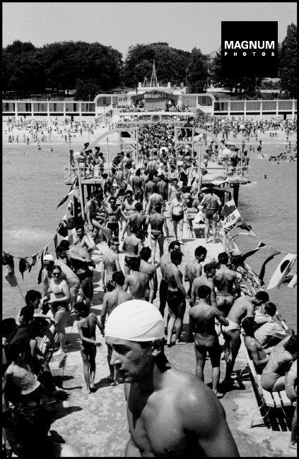 Fotó: Dennis Stock: Balaton, 1958 © Dennis Stock/Magnum Photos