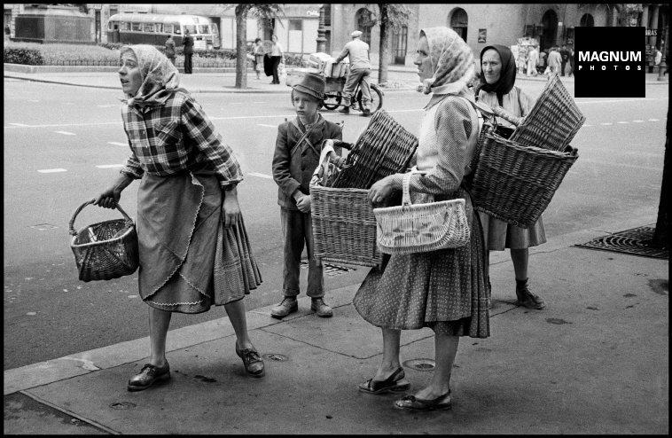 Fotó: Dennis Stock: Budapest. 1958 © Dennis Stock/Magnum Photos