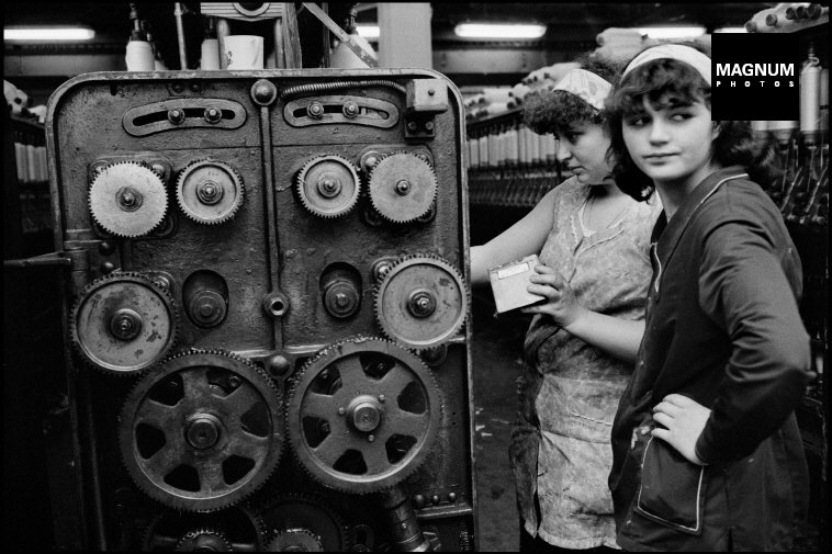 Fotó: Leonard Freed: Budapest, 1985 © Leonard Freed/Magnum Photos