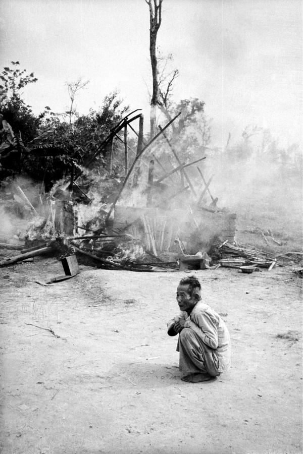 Fotó: Kondor László: Ijedtség, Quang Tin tartomány, 1970