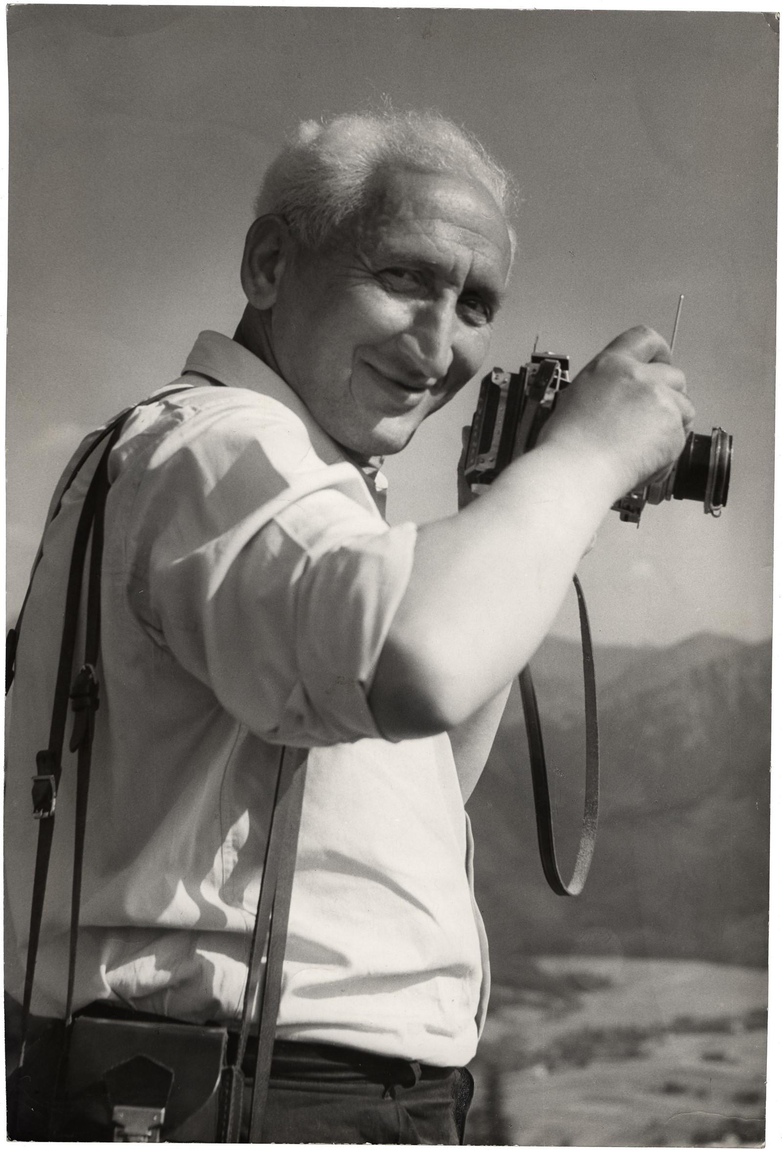 Fotó: Vadas Jolán: Vadas Ernő, 1957 © Magyar Fotográfiai Múzeum