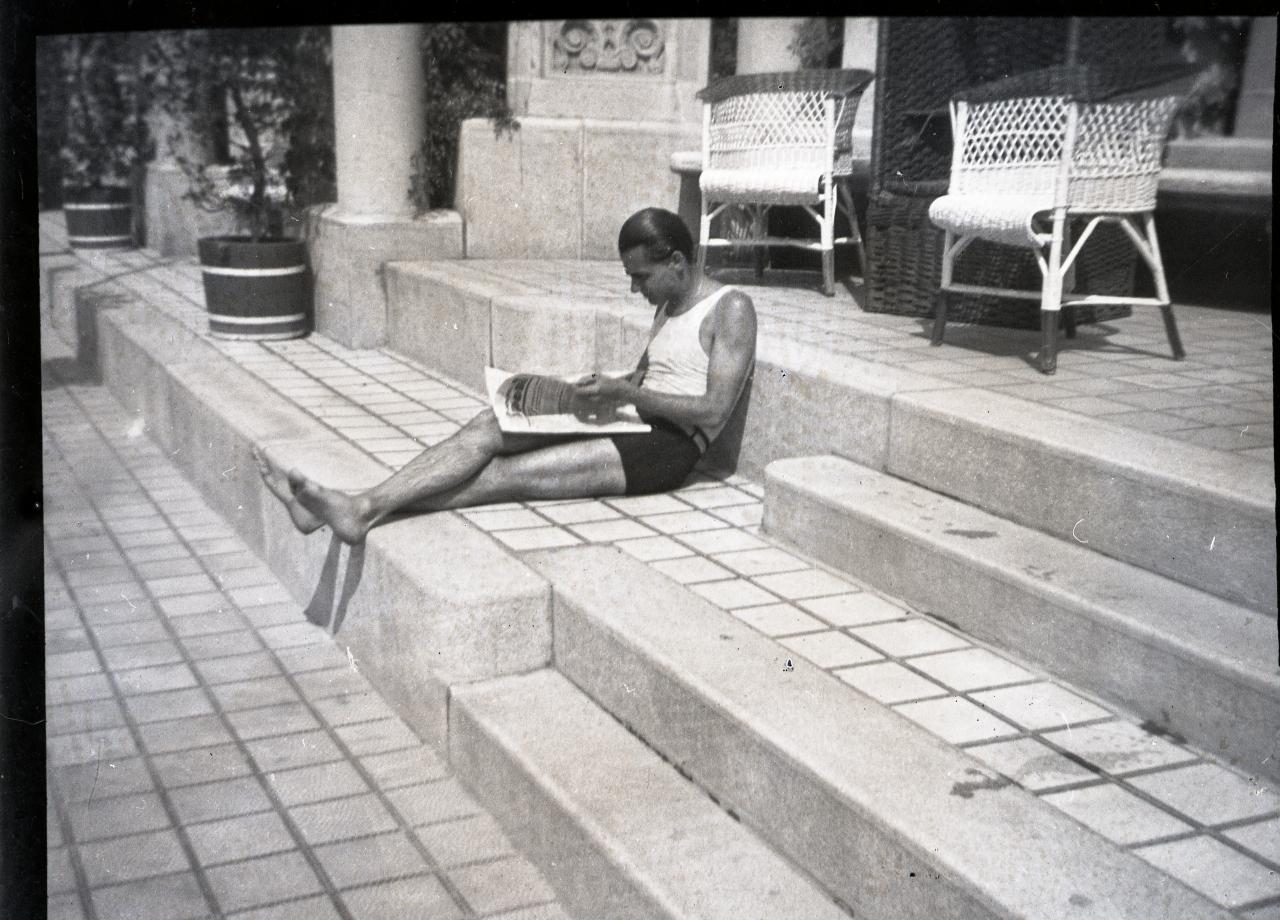 Fotó: Pusztai Sándor: Horthy Miklós, Ifj. (1907-1993) diplomata, földbirtokos |© Pusztai Sándor örökösei - FSZEK Budapest Gyűjtemény