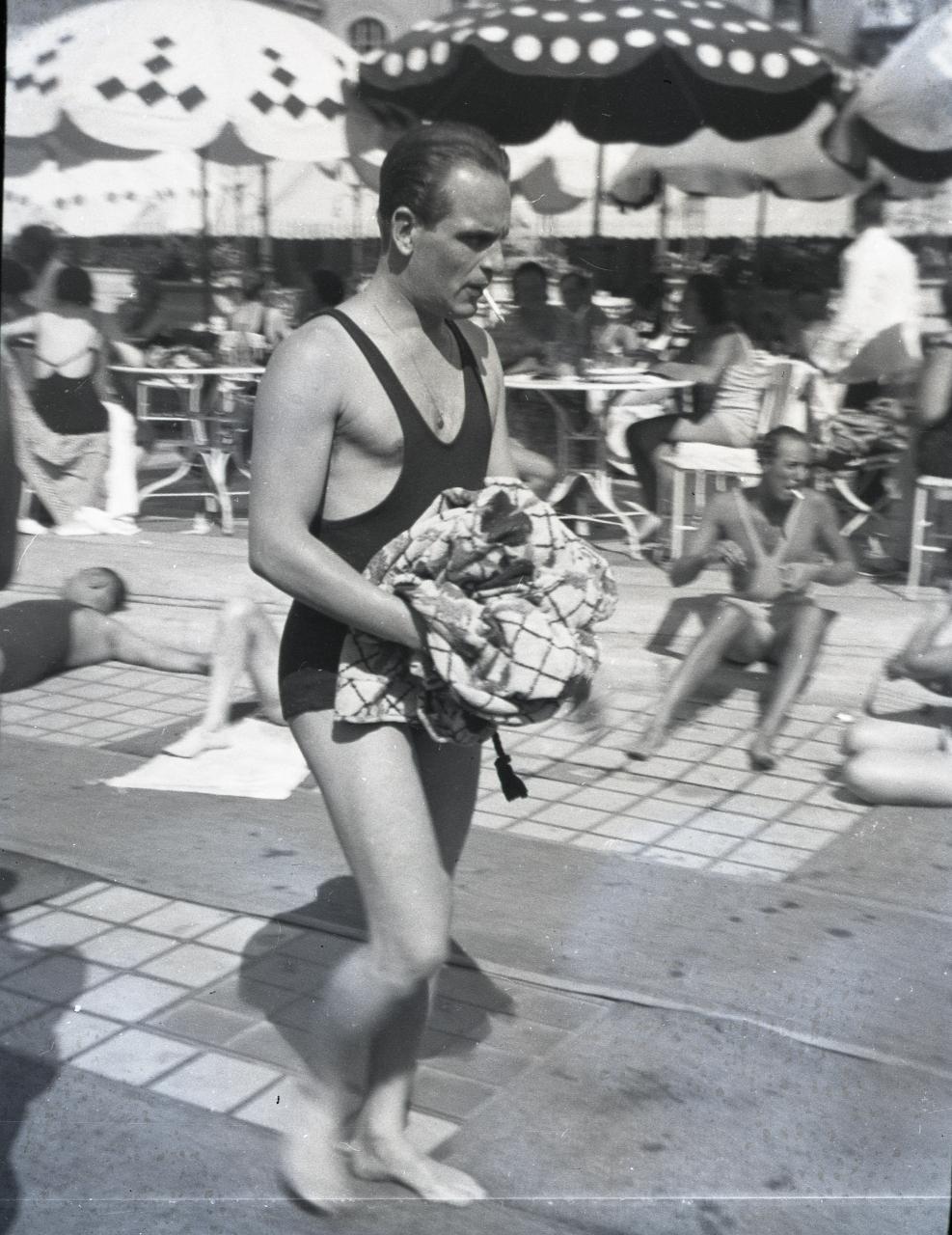 Fotó: Pusztai Sándor: Básti Lajos (1911-1977) színész, főiskolai tanár  © Pusztai Sándor örökösei - FSZEK Budapest Gyűjtemény