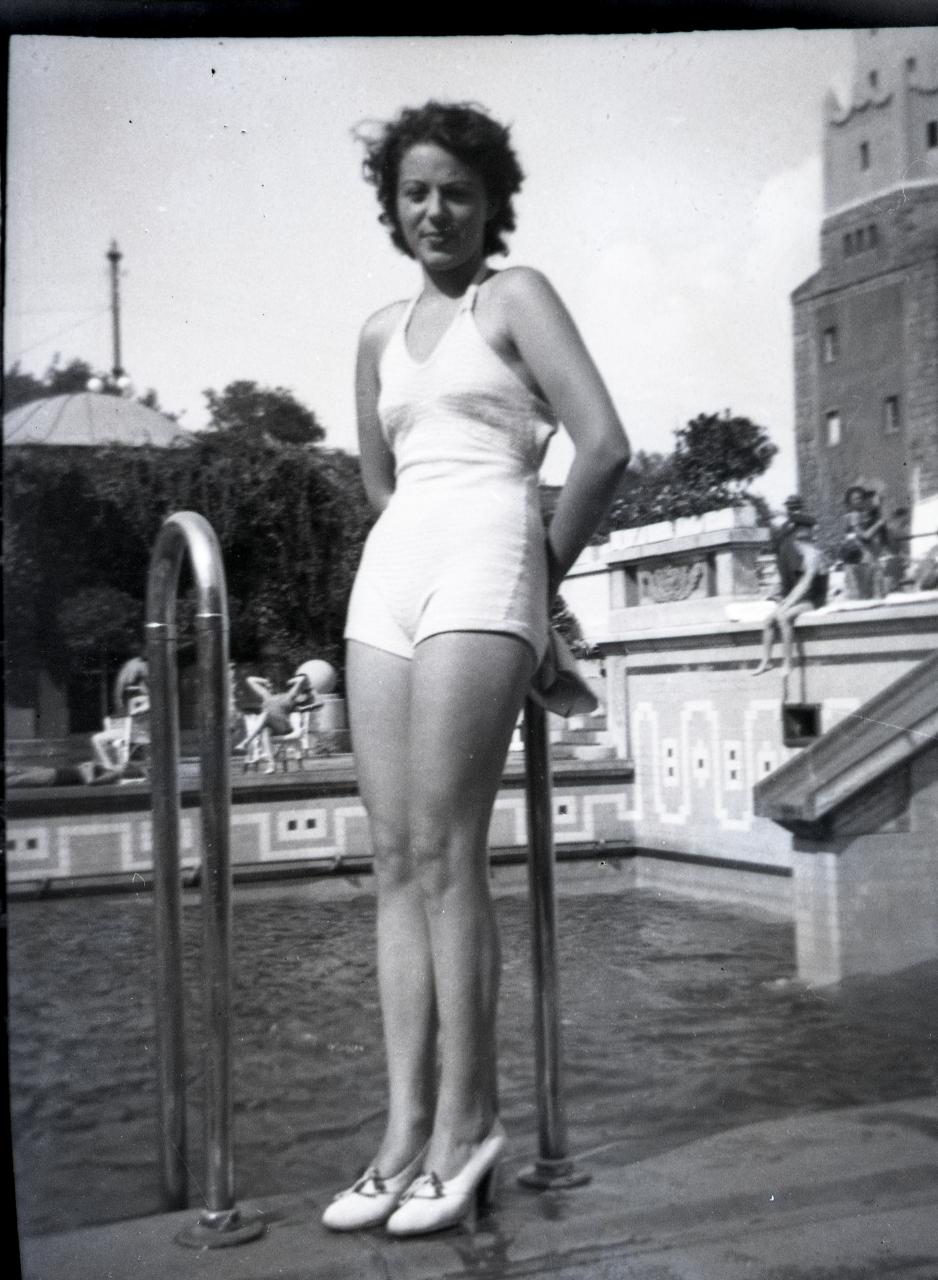 Fotó: Pusztai Sándor: Perczel Zita (1918-1996) színésznő  © Pusztai Sándor örökösei - FSZEK Budapest Gyűjtemény
