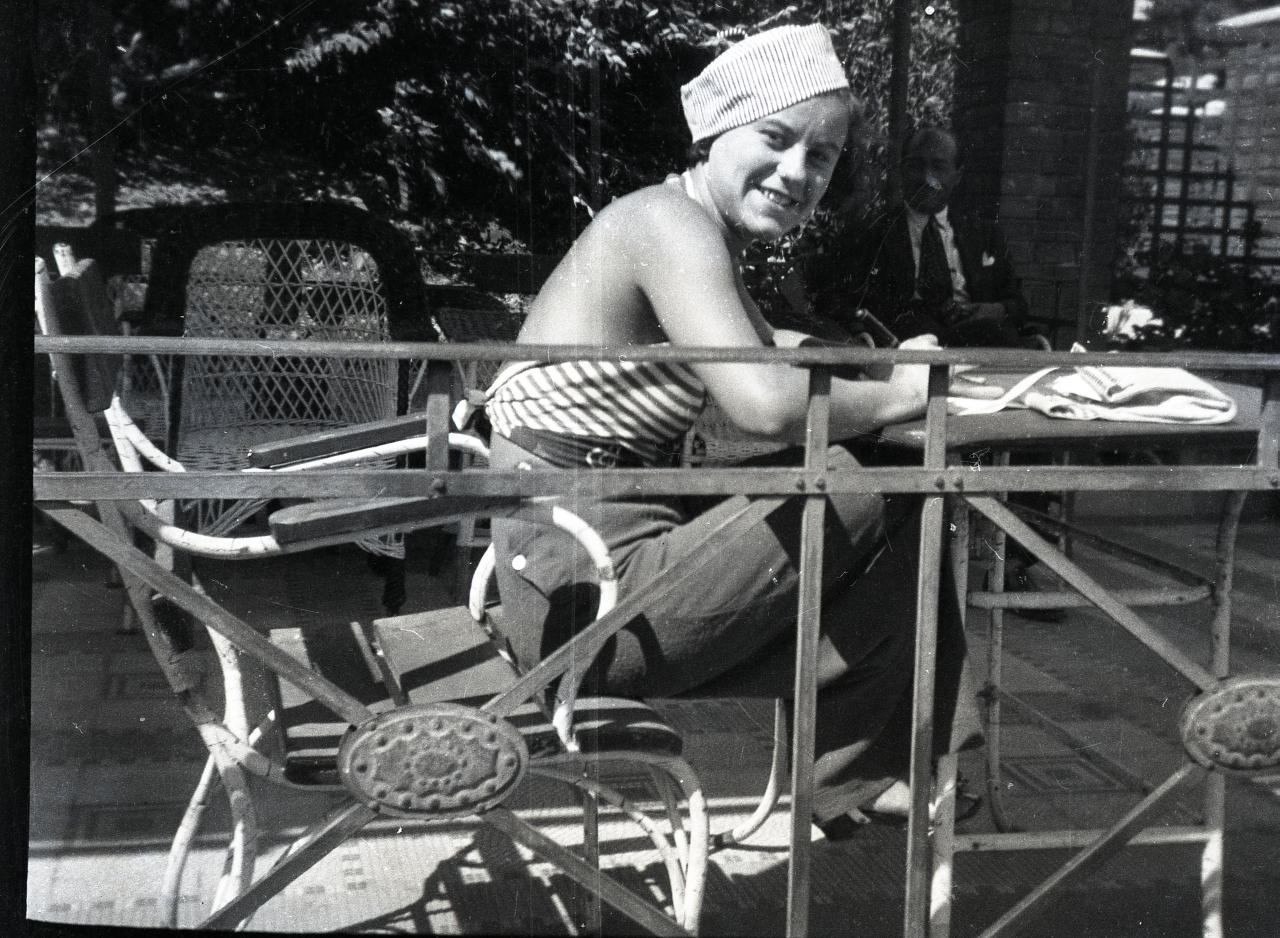 Fotó: Pusztai Sándor: Turay Ida (1908-1997) színésznő  © Pusztai Sándor örökösei - FSZEK Budapest Gyűjtemény