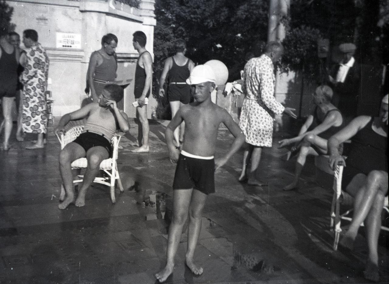 Fotó: Pusztai Sándor: Karinthy Ferenc (1921-1992) író, dramaturg   © Pusztai Sándor örökösei - FSZEK Budapest Gyűjtemény